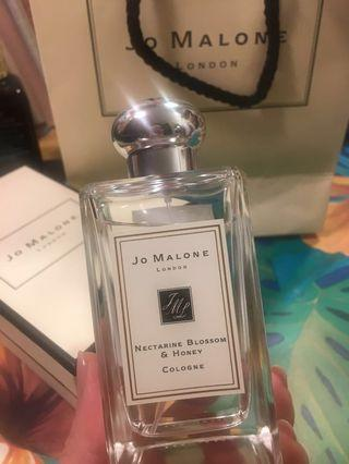 🚚 Jo Malone 蜂蜜與杏桃花香水 100ml nectarine blossom honey