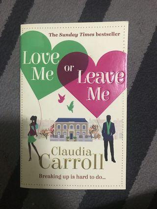 English Novel-Love Me or Leave Me