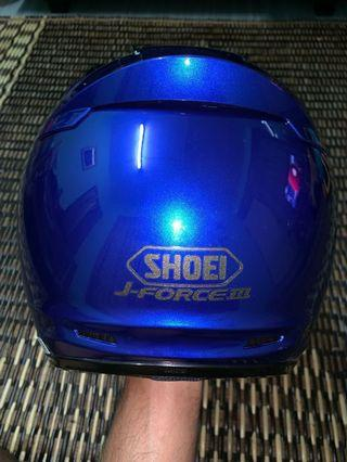 Shoei J Force 3 Royal Blue Size S