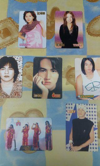 Yes Card F4 周杰倫 孫燕姿 趙薇 台灣歌手 組合