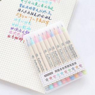 🚚 10 Pcs Calligraphy Watercolour Set