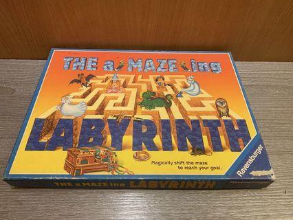 德國桌遊 THE a MAZE ing LABYRINTH 迷宮遊戲 早期桌遊 桌上遊戲  益智遊戲桌遊