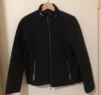 Womens Tommy Hilfiger Danielle Quilted Black Jacket - Size Large BNWT