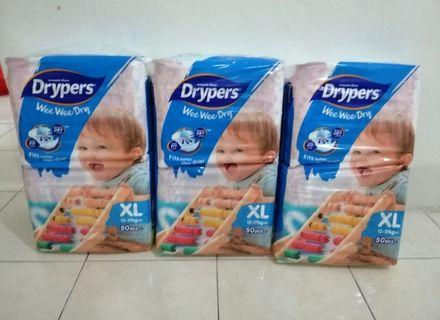 Drypers Wee Wee Dry XL50 x3packs #OYOHOTEL #RayaHome