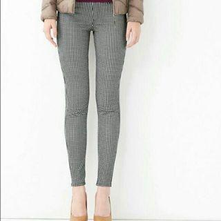 UNIQLO Checkered Ankle Pants