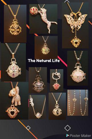 Essential oil jewelry, necklace, locket, pendant Plant therapy