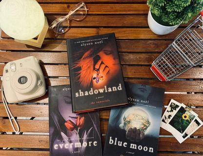 [Bundle] The Immortals Series: Evermore, Blue Moon, and Shadowland