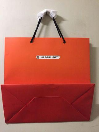 Le Creuset 紙袋 (40 x 40 x 20 cm)