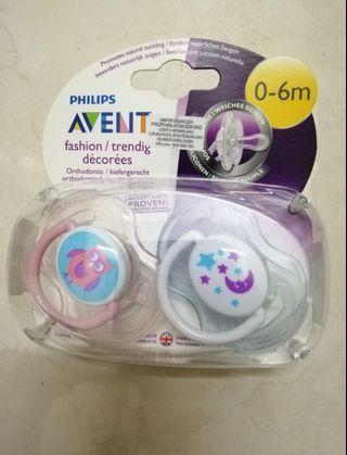 Philips Avent 2 Fashion Orthodontic Soothers 0-6m #RayaHome #OYOHOTEL #CarouRaya