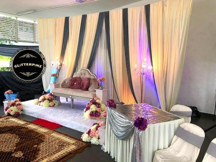 Malay wedding decor & catering package