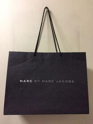 Marc By Marc Jacobs 紙袋 (40 x 30 x 15cm)