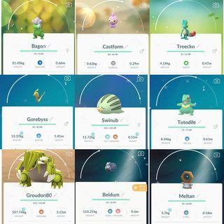 Pokemon go shiny 閃