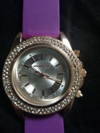 Michael kors watch with athletic bands
