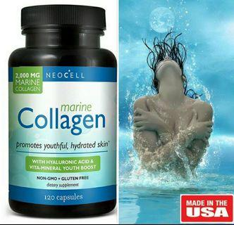 Neocell Marine Collagen (120 Caps) Exp 2021