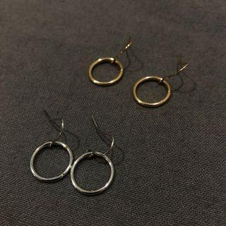 🚚 個性耳環(小小的)