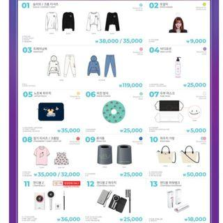 TWICELIGHTS IN SEOUL MERCHANDISE GROUP ORDER