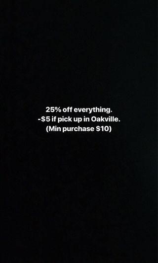 Sale!!