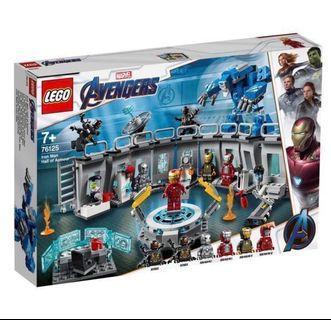 (Last ) Lego 76125 hall of ironman marvel Superheroes