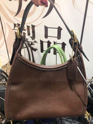 AUTHENTIC COACH HAND BAG LEATHER