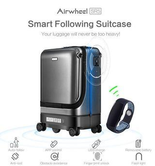 🚚 Airwheel SR5 / SR6 Self Moving Auto Follow Suitcase with Smart Bracelet