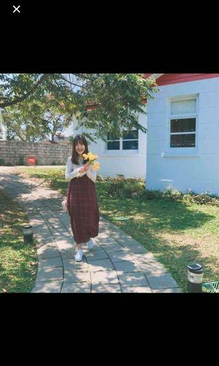 🚚 PAZZO 紅格子連身裙