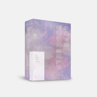 BTS WORLD TOUR LOVE YOURSELF EUROPE/NEW YORK DVD GO (PERTH BASED)
