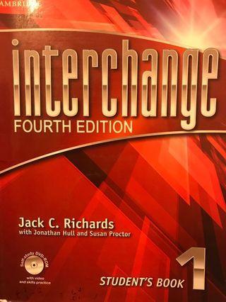🚚 interchange book 1