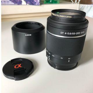 Sony A-Mount  DT 55-200mm F4-5.6 SAM II Lens