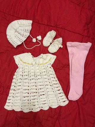 Dress bayi newborn