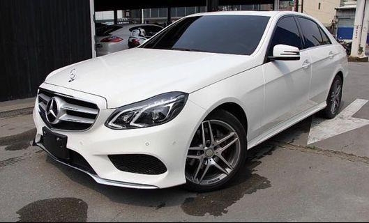 總代理2015年白色E200AMG版 實跑四萬六車美