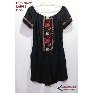 Old Navy Black Romper