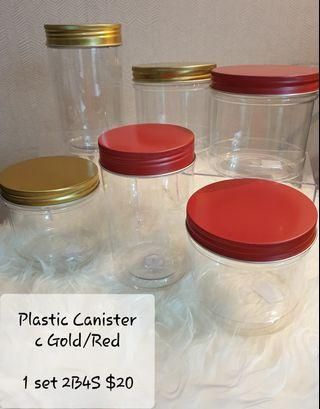 Plastic Cookies Jar canisters