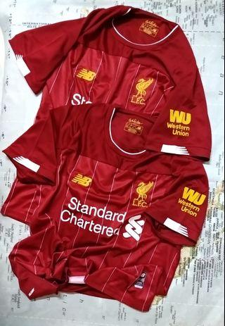 COMBO LELONG 1 FOR RM60 / 2 FOR RM100! 2019/20' Liverpool FC Home S/Sleeves Jersey