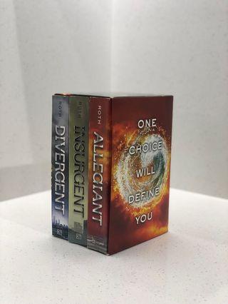 Divergent, Insurgent & Allegiant