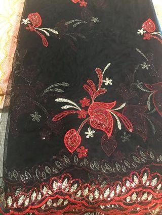 🚚 Lace/Net Dress materials /Saree