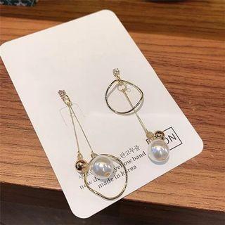 [PO] Pearl Drop Earrings