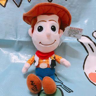 【台灣直送】Toy Story Woody 胡迪 毛公仔 反斗奇兵