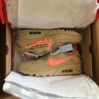 Nike Max 90 OW The Ten sneakers