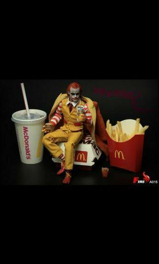 """c003 hamburger uncle jokerbatman macdonald Super duck 1/6 12""""  nt hot toys"""