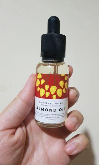 Purivera Botanicals Almond Oil