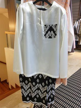 Baju  Kurung batik morden