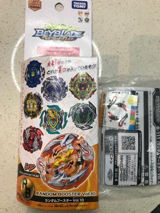 Beyblade Random Booster Vol 10 Crash Ragnaruk