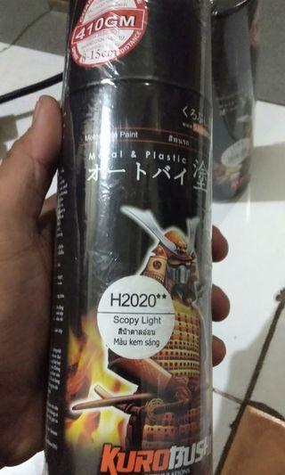 #BAPAU Hair Spray Samurai H2020**