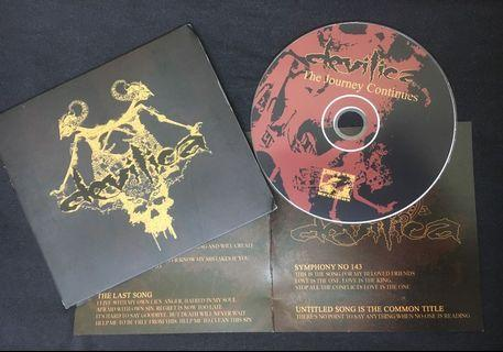 Devilica - The Journey Continues CD