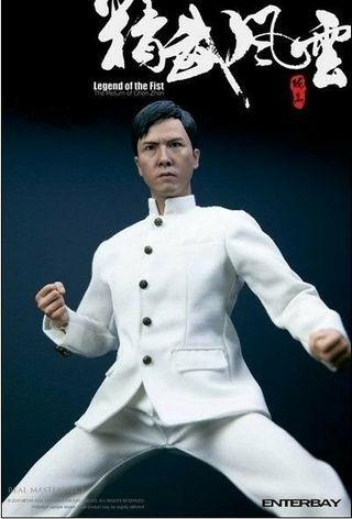"""Enterbay Donnie Yen 1/6 12"""" movie Legend of the Fist nt hot toys bruce lee ip man"""