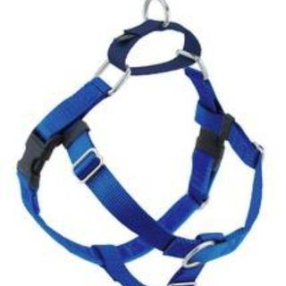 FREEDOM No-Pull Harness & Leash (Royal Blue/Navy Blue) For Dogs