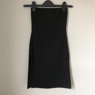 PLT Tube dress with slit