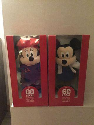Mickey And Minnie Mouse Couple Plushies
