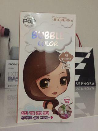Richenna Bubble Color Brown Hair Dye