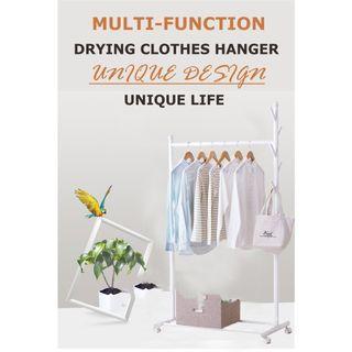 Cod✔ self pickup ✔Drying Rack Clothes Rack Coat Rack Clothes Wardrobe
